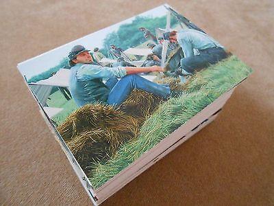The Blue & The Grey Trading Card Base Artwork by Mort Kunstler 1997 Comic Images