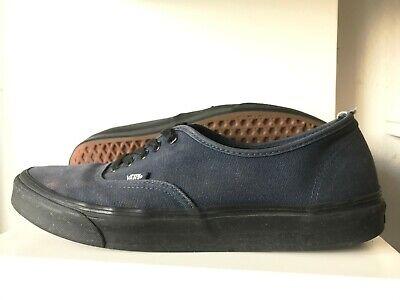 Van's Size 11.5 Navy Blue + Black