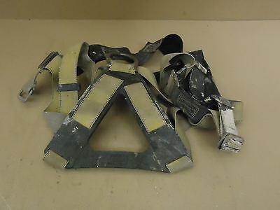 Dbi-sala Safety Harness Vest Style Yellowblack 1103321 Polyester Metal