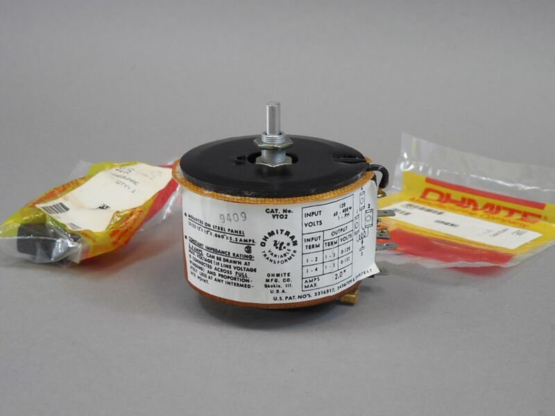 Ohmite Variable Transformer 1000587-01