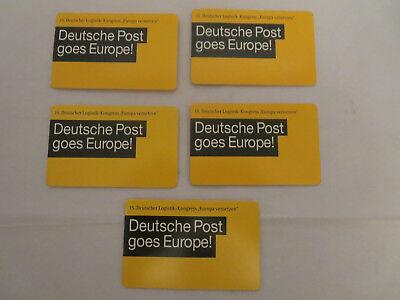 Briefmarken-PortoCards 5 Stück