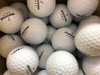 50 BRIDGESTONE FIX GOLF BALLS  GRADE B  LAKE GOLF BALLS FREE DELIVERY