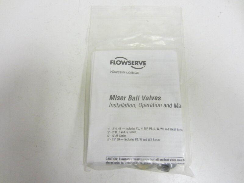 NIB Flowserve 16474 Miser Ball Valve Kit