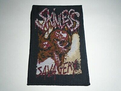 SKINLESS SAVAGERY WOVEN PATCH