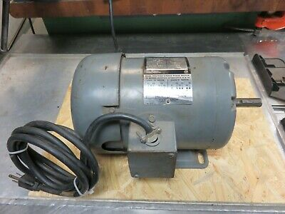 Rockwell Motor Delta Drill Press Band Sawsander 34 Hp Single Phase 110 Baldor