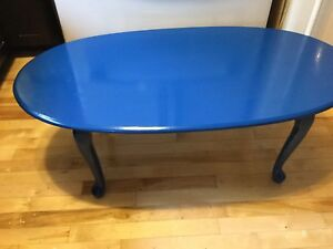 Nancy blue coffee table- available
