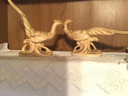 Vintage Ceramic Pheasant Figurines