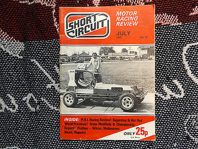 SHORT CIRCUIT MAGAZINE #19 JULY 1979 - STOCK CAR HOT ROD BANGER RACING
