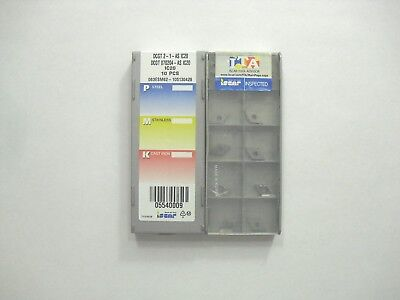 Dcgt 2-1 As Ic20 Iscar Insert 10pcs Genuine