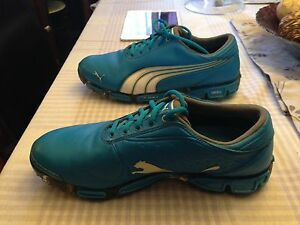 Puma blue gold shoes size 10 *View all ads*