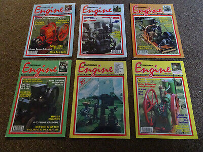Stationary Engine Magazines x 6 copies 1994-1999
