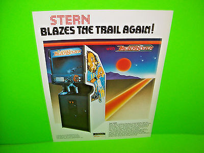 Stern Mazer Blazer 1983 Original Vintage NOS Video Arcade Game Promo Sales Flyer