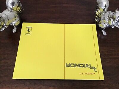 1990 FERRARI MONDIAL T OWNERS MANUAL  HANDBOOK - 629/90