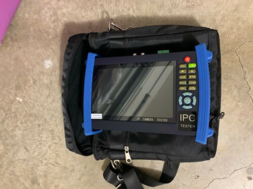 Defender Security IPC Tester Analog BNC Monitor CCTV Excellent Condition