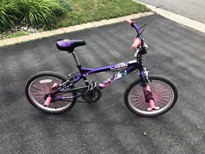 Huntress BMX bike, mint condition, new was $300
