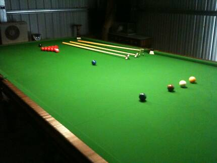Full size Alcock and Thompson slate billiard table Glenroy Moreland Area Preview