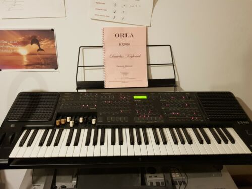 Hammond Clone Keyboard Drawbar Organ Full Pedals, Manual, Midi, Synth, DiskDrive