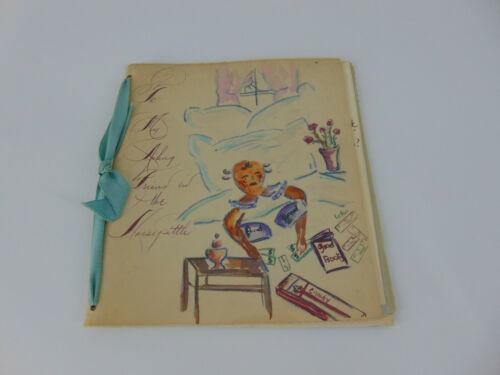 1950s folk art drawings sick get well card Jim Crow McLaurin v. Oklahoma State