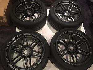 AME TRACERS 18x9.5+15 GUNBLACK PRICE DROP!! Liverpool Liverpool Area Preview