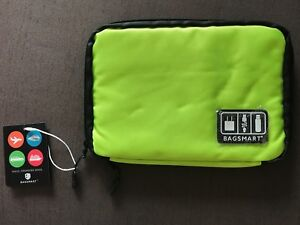 NEW BAGSMART Slim Travel Cable Organizer Bag