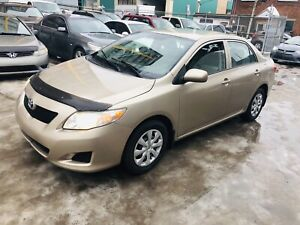 2009 Toyota Corolla CE 4cylinder 1.8L 126000km 5799$