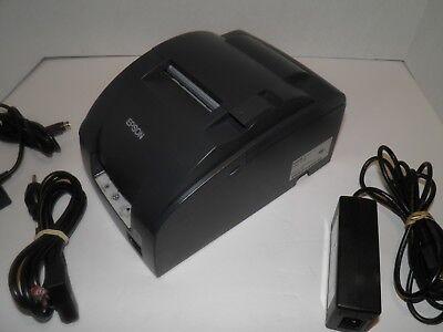 Epson Tm-u220b M188b Kitchen Bar Pos Receipt Printer Ethernet W Ac Adapter
