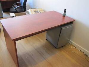 Office Desk, Chair and Filing Drawer (3 available) Mascot Rockdale Area Preview