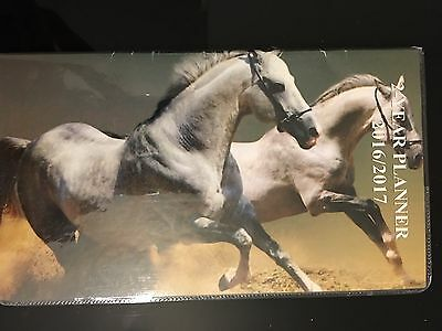 Pocket 2-year Calendar Planner 20162017 Organizer Appointment Book White Horses