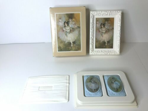 VTG AVON Beauty in Motion Ballet Picture & Two Special Occasion Fragranced Soaps