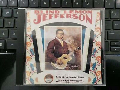 Blind Lemon Jefferson - King of the Country Blues - Yazoo 1069 CD 1990 Free S&H