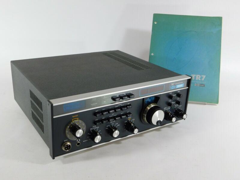 Drake TR7 Ham Radio Transceiver + Filters + Noise Blanker (looks good, untested)