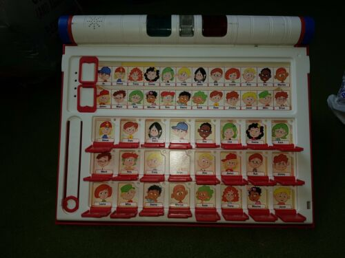 Deluxe Guess Who Game With Multiple Guessing Sheets