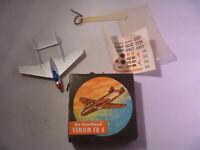 1 x Lehmann Flugzeug Flieger Venom FB 4 925 MB Original von 1960 im OK Mint Box