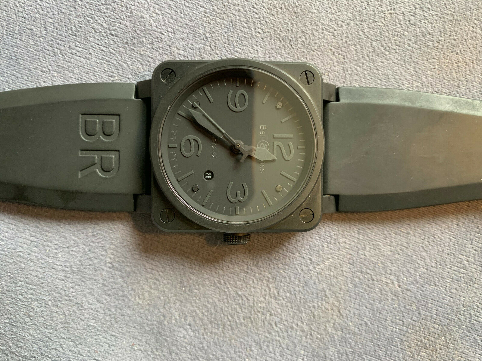 Bell & Ross BR03-92-92S-09201 Aviation Military Spec Watch - watch picture 1