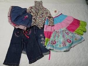 Girls size 1 clothing Bethania Logan Area Preview
