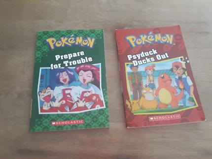 Pokemon books x 2