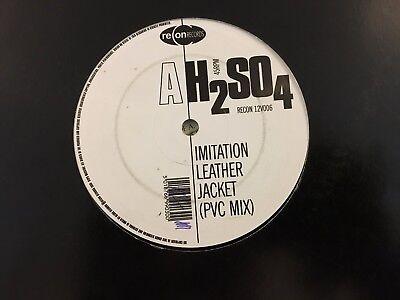 "H2SO4 (2) - Imitation Leather Jacket (ReCon Records RECON 12V006 12"", Single) VG"