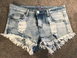 Ally Acid Wash Short Shorts Size 10 Narre Warren Casey Area Preview