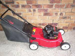 BRIGGS STRATTON 4 STROKE,MTD SERVICED,LAWN MOWER.CATCHER. Runcorn Brisbane South West Preview