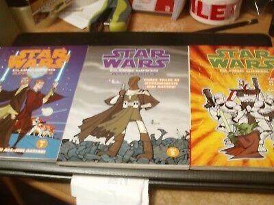 Star Wars Clone Wars Vols. 1, 2 and 3 2004-2005