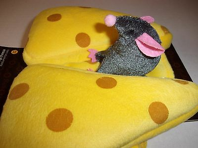 MOUSE CHeese Cat Costume Halloween new Small pet Petco S O/S dog kitty rider