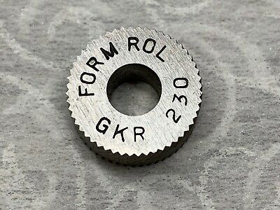 Form Rol Knurling Wheel Gkr 230 58-od 14-id 14-w
