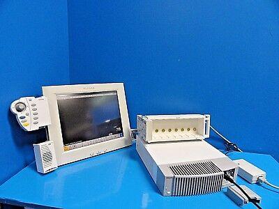 Philips Intellivue Mp90 Patient Monitor W Fms Rack Speedpoint Display 14381