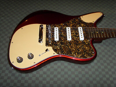 Guitare Acepro (style ancien Fender Jazzmaster Jaguar Mustang) retro VINTAGE