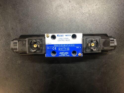 SIX PACK Tokimec DG4V-3-2C-M-U7-H-52-K Directional Control Valve Tokyo Keiki