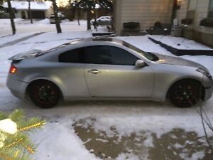 2003 Infiniti g35 coupe 6 speed manual