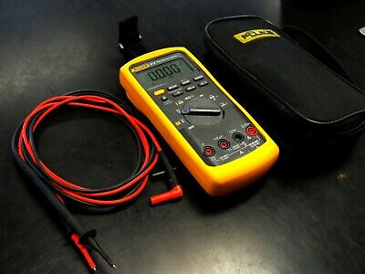 Fluke 87v True Rms Multimeter With Leads And Case