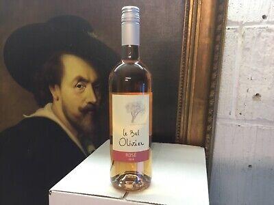 30 bouteilles Chateau Bel Olivier Languedoc rosé  millésime 2019