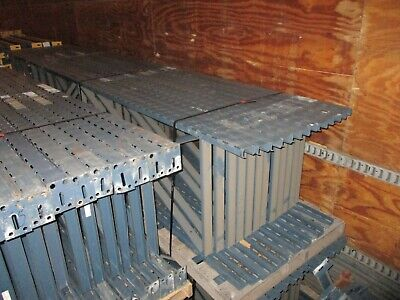 Slotted Pallet Racking Single Upright 16 192 Depth 32 Used