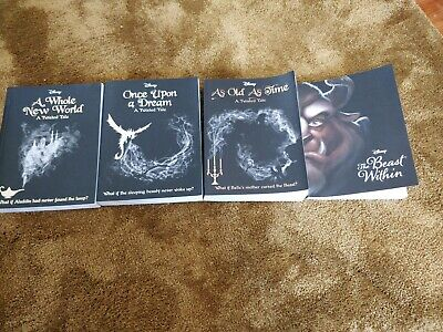 Four Disney Twisted Tales Books RRP £27.96